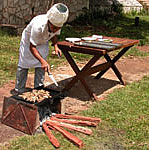 Barbacue at Villa Pinares de Mayari